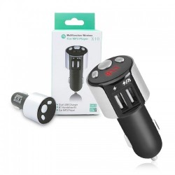 FM трансмитер Auto max X10, Bluetooth, 2 USB, Handsfree