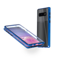 360° Magnetic case Samsung S10 Plus син